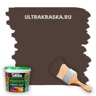 Резиновая краска Super Decor Rubber №6 АРАБИКА