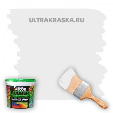 Резиновая краска Super Decor Rubber №0 БЕЛОСНЕЖНАЯ