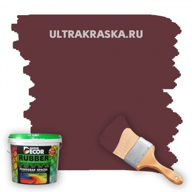 Резиновая краска Super Decor Rubber №13 ГРАНАТ