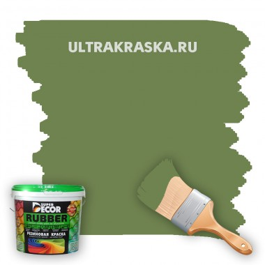 Резиновая краска Super Decor Rubber №9 ЛЕСНАЯ СКАЗКА