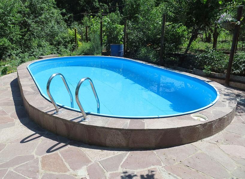 Резиновая краска для бассейна